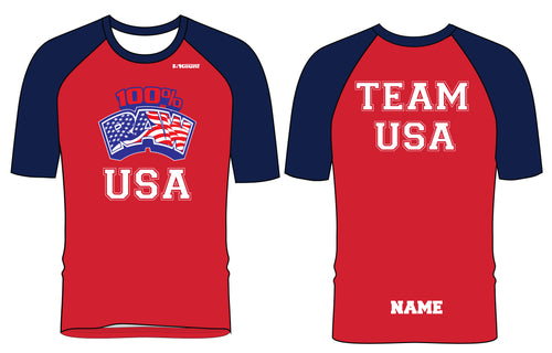 RAW USA Sublimated Fight Shirt