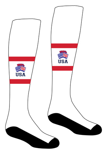 RAW USA Knee High Socks