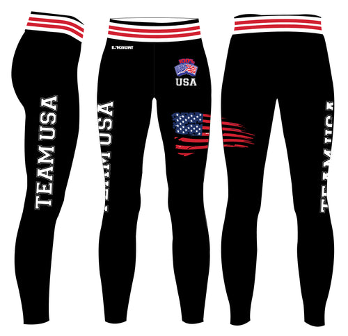 RAW USA Sublimated Ladies Legging