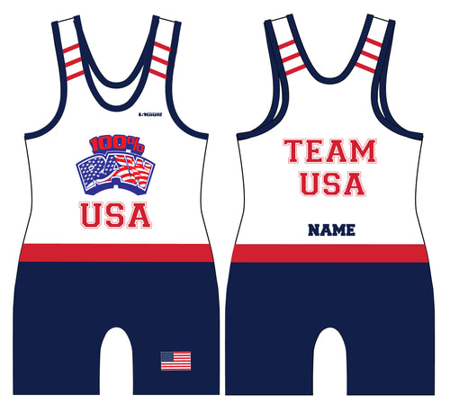 RAW USA Sublimated Singlet