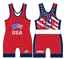 RAW USA Sublimated Star Singlet - 5KounT2018