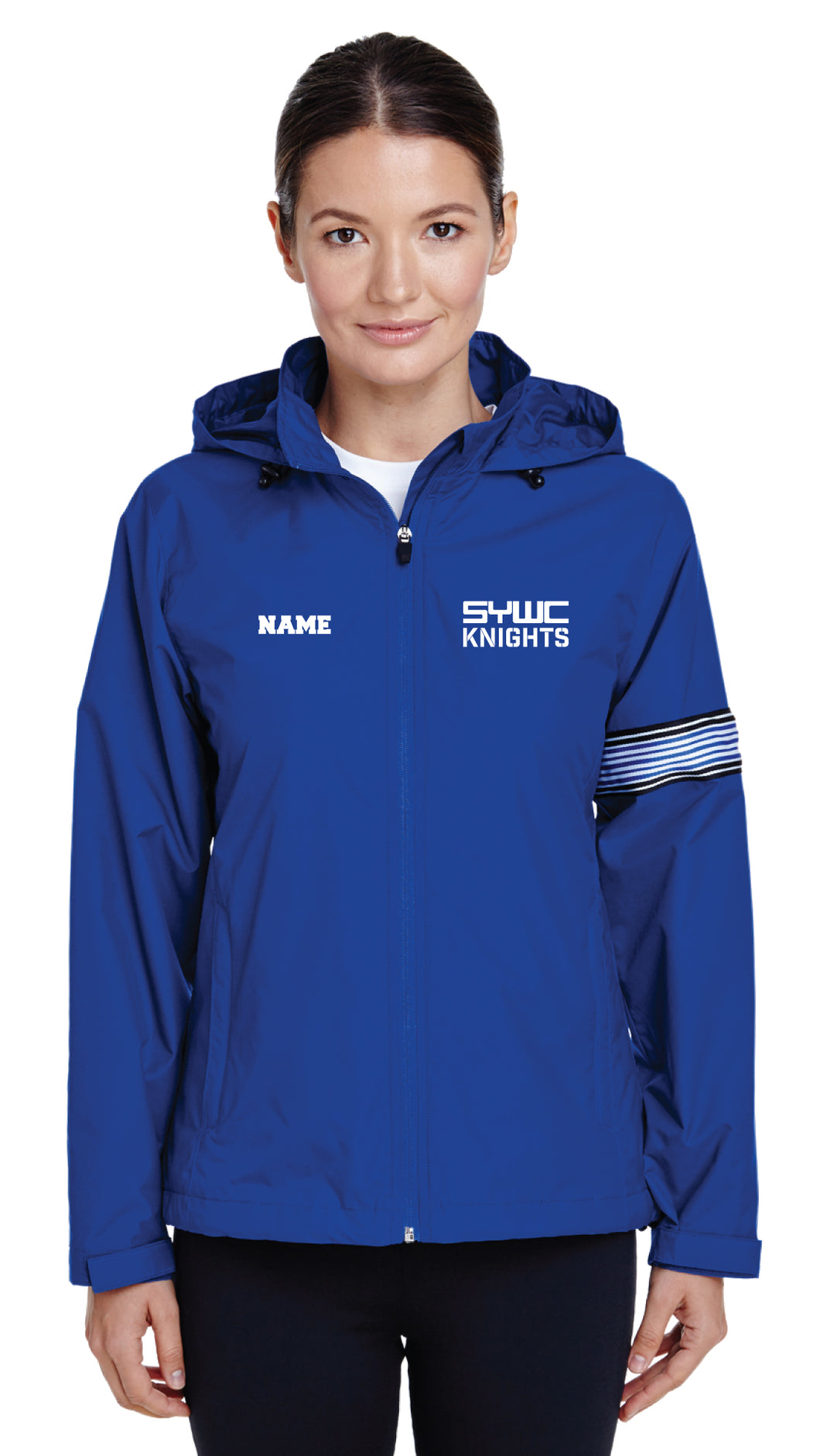 SYWC All Season Hooded Women's Jacket - Royal