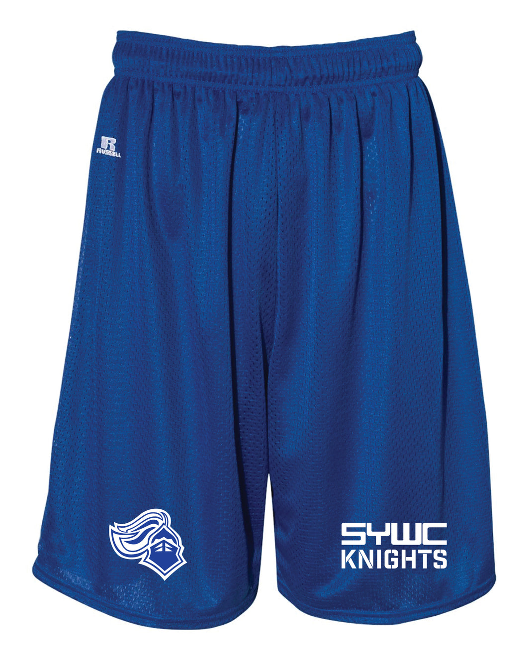 SYWC Russell Athletic  Tech Shorts - Royal - 5KounT2018