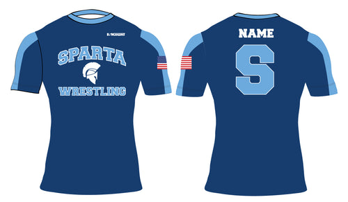 Sparta HS Wrestling Sublimated Compression Shirt