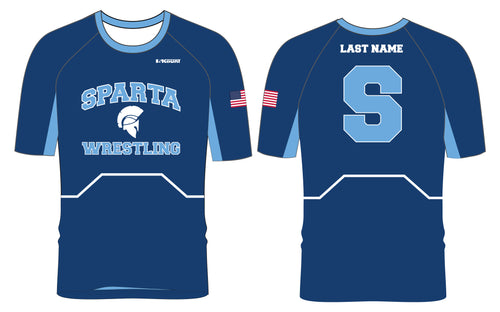Sparta HS Wrestling Sublimated Fight Shirt