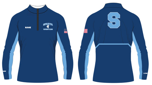 Sparta HS Wrestling Sublimated Quarter Zip