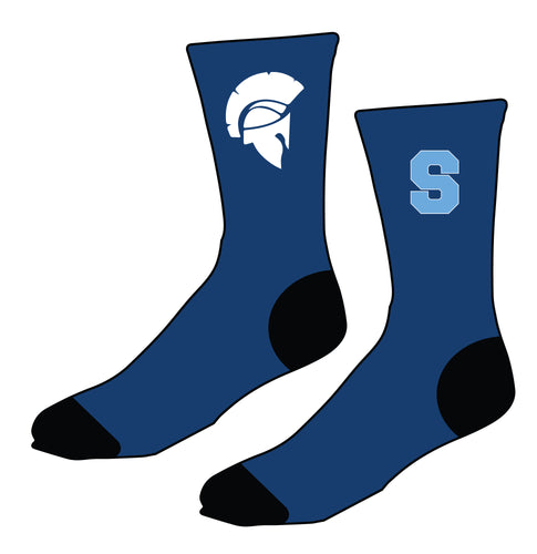 Sparta HS Wrestling Sublimated Socks
