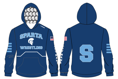 Sparta HS Wrestling Sublimated Hoodie