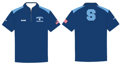 Sparta HS Wrestling Sublimated Polo