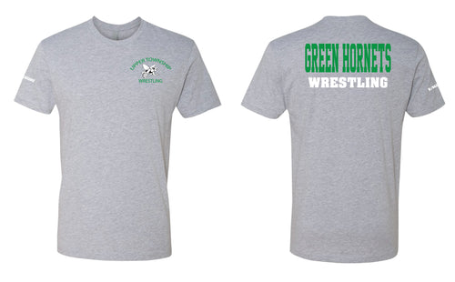Upper Township Wrestling Cotton Tee - Gray - 5KounT2018