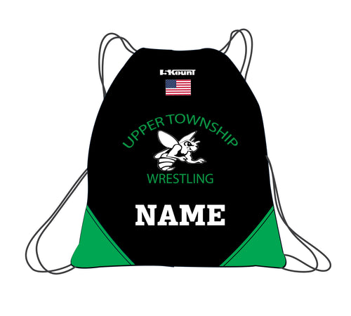 Upper Township Wrestling Sublimated Drawstring Bag - 5KounT2018