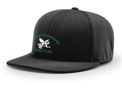 Upper Township Wrestling FlexFit Cap - Black - 5KounT2018