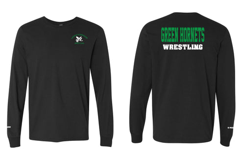 Upper Township Wrestling Cotton Long Sleeve - Black - 5KounT2018