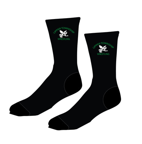 Upper Township Wrestling Sublimated Socks - 5KounT2018