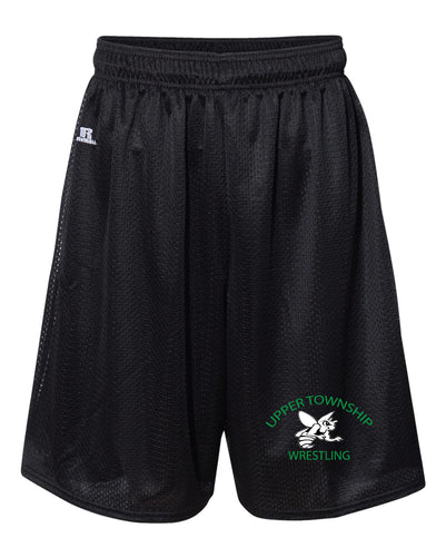 Upper Township Wrestling Russell Athletic Tech Shorts - Black - 5KounT2018