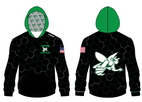 Upper Township Wrestling Sublimated Hoodie - 5KounT2018