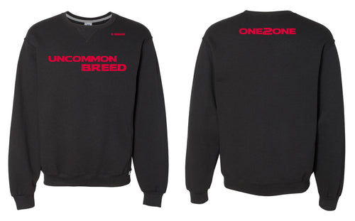 One2One Russell Athletic Cotton Crewneck Sweatshirt - Black - 5KounT2018