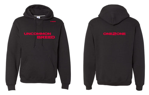 One2One New Russell Athletic Cotton Hoodie - Black - 5KounT2018