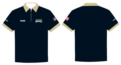 Braves Football Sublimated Polo - 5KounT2018