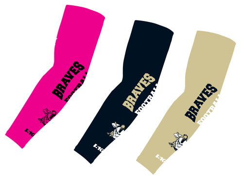 Braves Football Sublimated Compression Sleeves - 5KounT2018