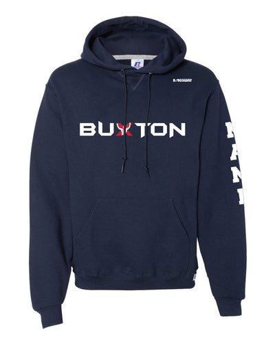 Buxton Russell Athletic Cotton Hoodie - Navy - 5KounT2018