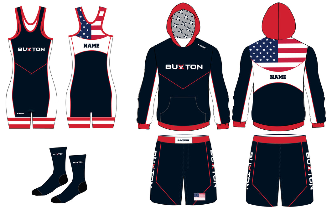Buxton Navy Package - Ladies' - 5KounT2018