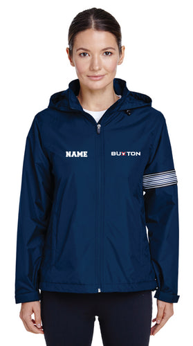 Buxton All Season Hooded Women's Jacket - Navy - 5KounT2018