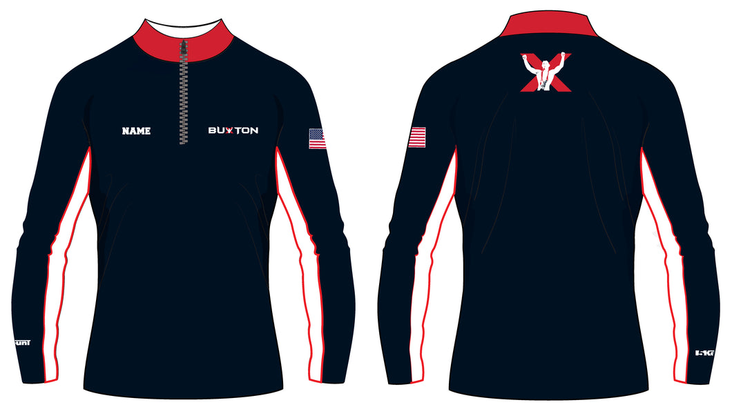 Buxton Sublimated Quarter Zip - 5KounT2018