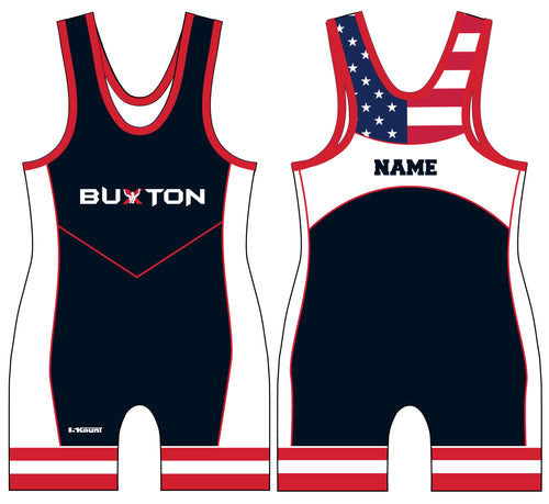Buxton Sublimated Men's Singlet - Navy - 5KounT2018