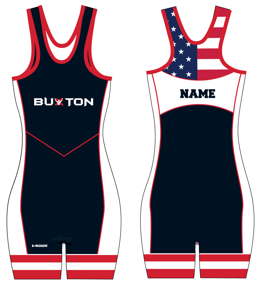 Buxton Sublimated Ladies' Singlet - Navy - 5KounT2018