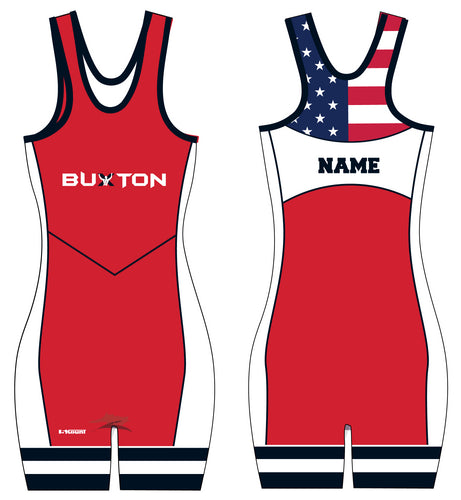 Buxton Sublimated Ladies' Singlet - Red - 5KounT2018
