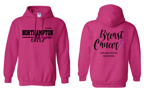 Northampton Indians Cheer Cotton Hoodie Cancer Awareness