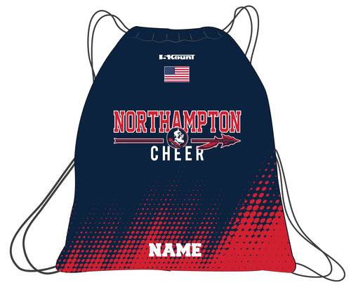 Northampton Indians Cheer Sublimated Drawstring Bag