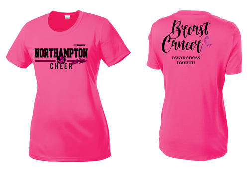 Northampton Indians Cheer Cancer Awareness Dryfit Tee - Pink