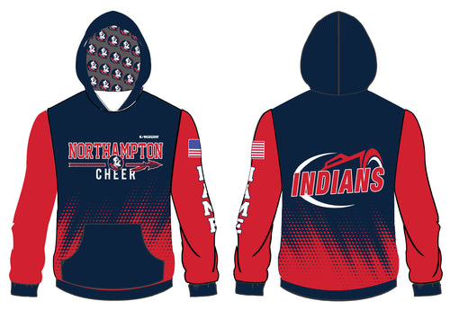 Northampton Indians Cheer Sublimated Hoodie