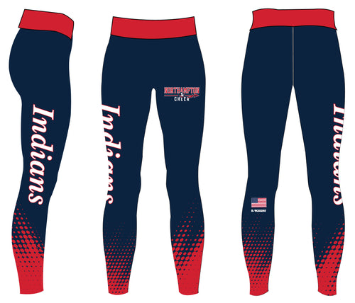 Northampton Indians Cheer Women's Leggings