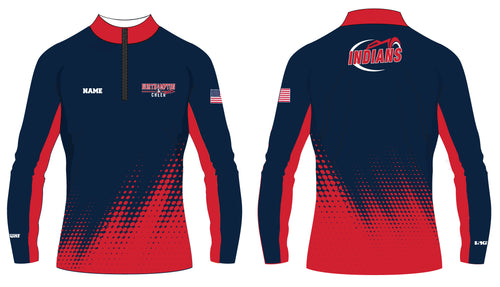 Northampton Indians Cheer Sublimated Quarter Zip