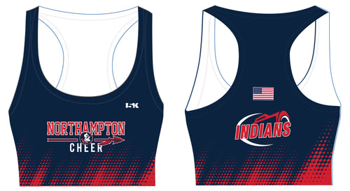 Northampton Indians Cheer Sublimated Sports Bra