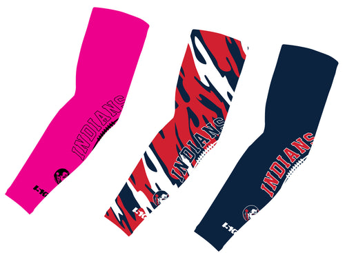 Northampton Indians Football Sublimated Compression Sleeves