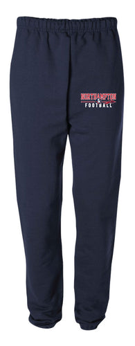 Northampton Indians Football Cotton Sweatpants - Navy