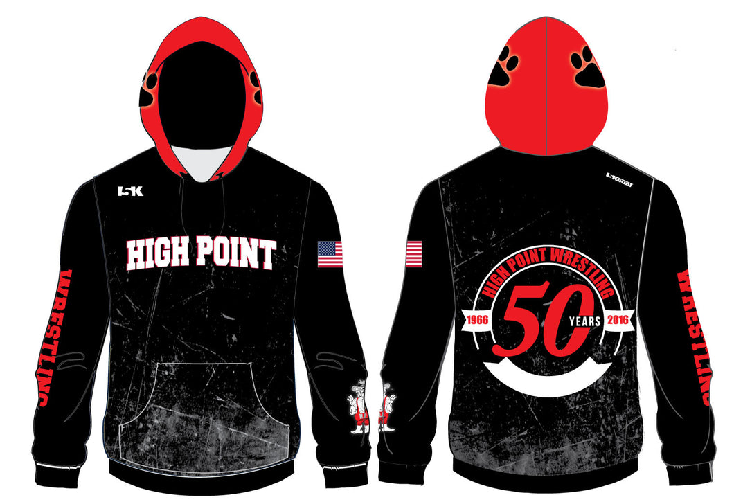High Point Sublimated Hoodie