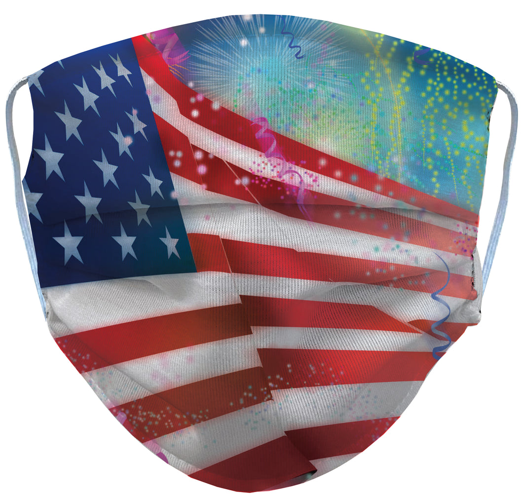 July 4th Reusable Face Mask - 5KounT2018