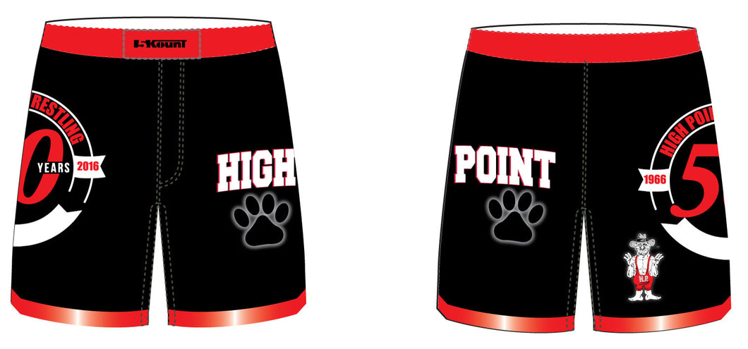 High Point Sublimated Fight Shorts