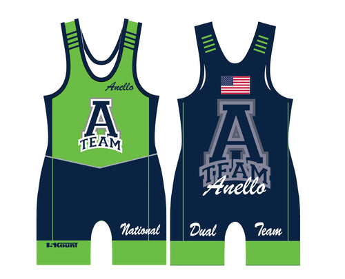 ATEAM National Dual Sublimated Singlet - 5KounT2018