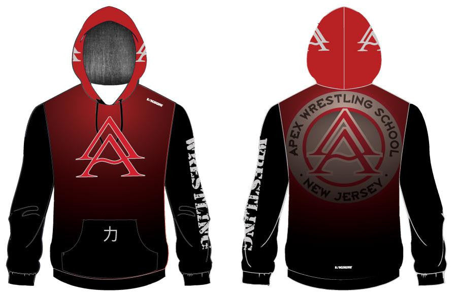 APEX SUBLIMATED HOODIE - SHADOW