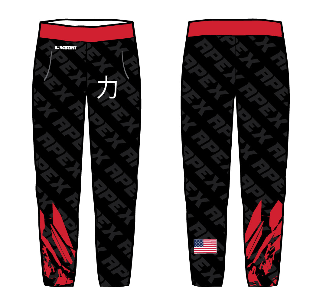 Apex Wrestling Sublimated Joggers Style 3