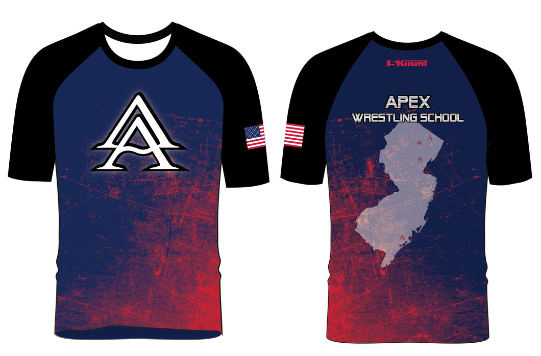 APEX Wrestling School Sublimated Shirt