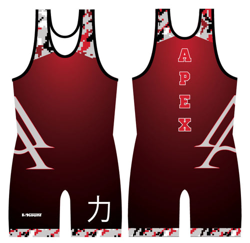 APEX CLUB SINGLET - SHADOW