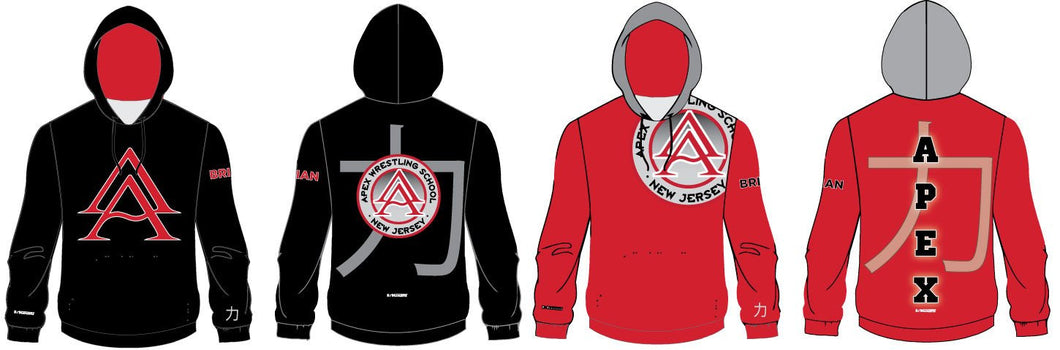 APEX SUBLIMATED HOODIE - STRENGTH