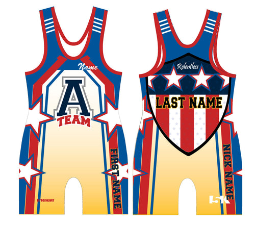 ATEAM National Gear Sublimated Singlet - 5KounT2018